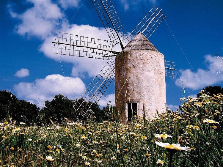 Molino de viento Formentera Alfredo-Montero