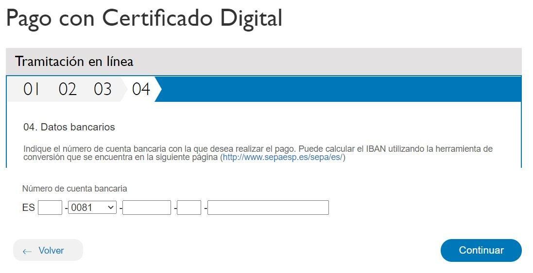 Multas Madrid pago con certificado digital