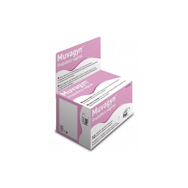 Muvagyn probiotico vaginal en cápsulas (Vistafarma.com)