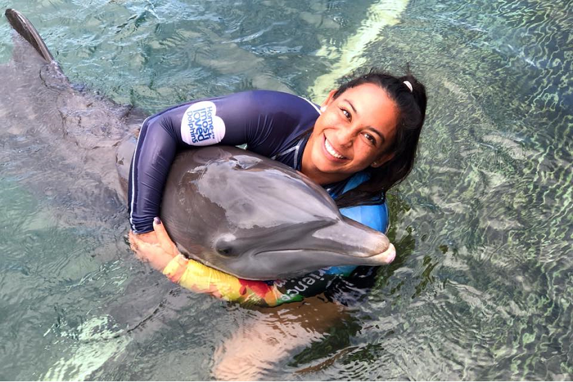 Nadar con delfines en Punta Cana