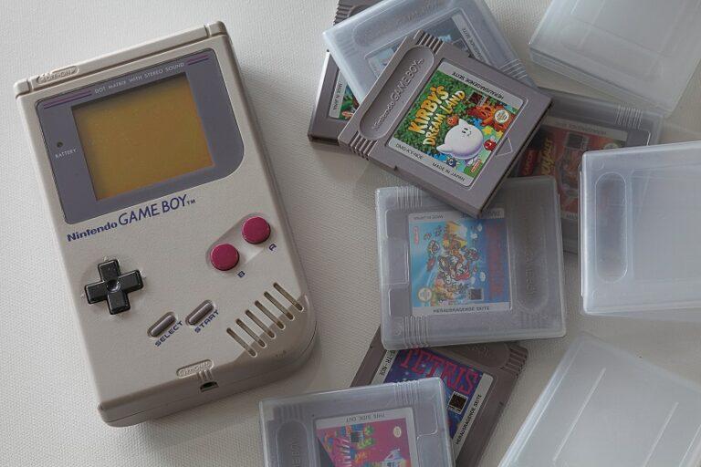 Nintendo Game Boy y juegos de arcade