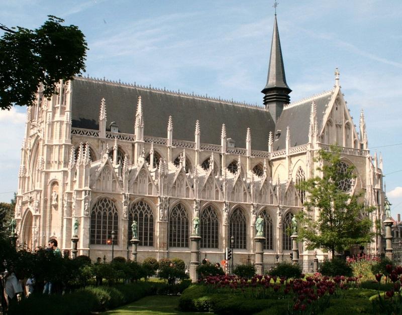 Notre Dame du Sablon Bruselas