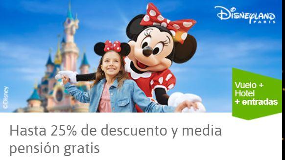 Oferta Disneyland Paris Viajes El Corte Inglés