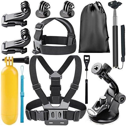 Pack de accesorios de cámara deportiva Neewer Amazon