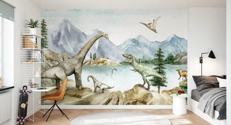 Papel pintado de diseño Dino Dreams Photowall