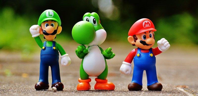 Personajes de Nintendo Super Mario Bros y Luigi