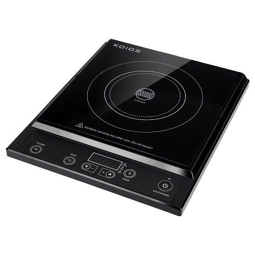 Placa de cocina de inducción de 2000W Koios Amazon