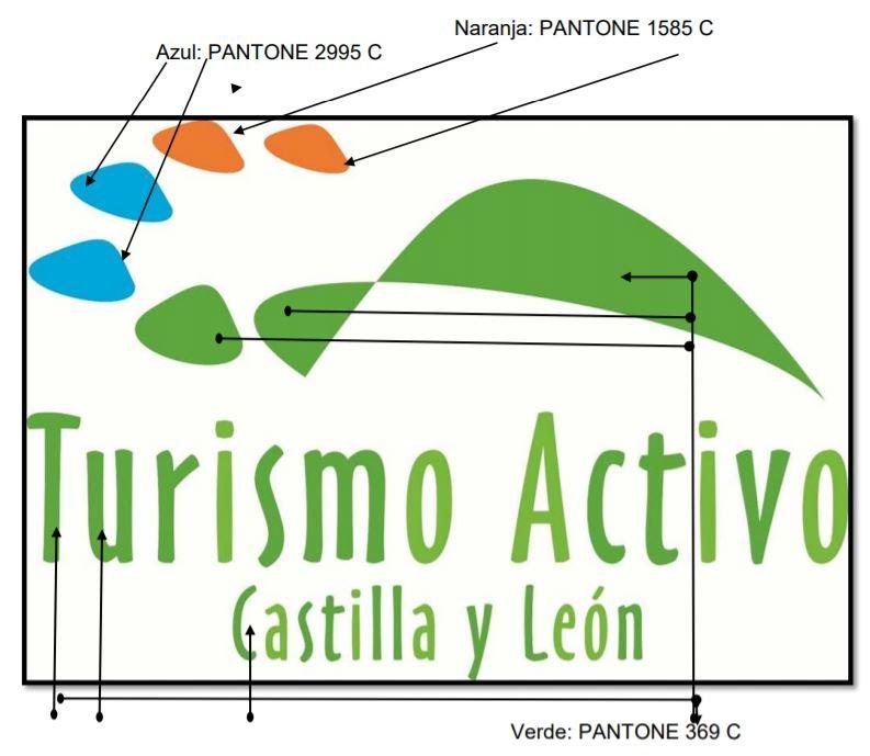 Placa empresa de turismo activo en Castilla y León
