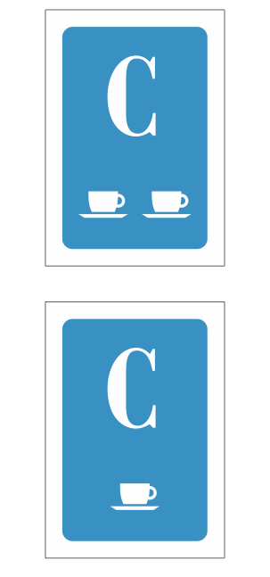 Placa identificativa Cafeterias CyL