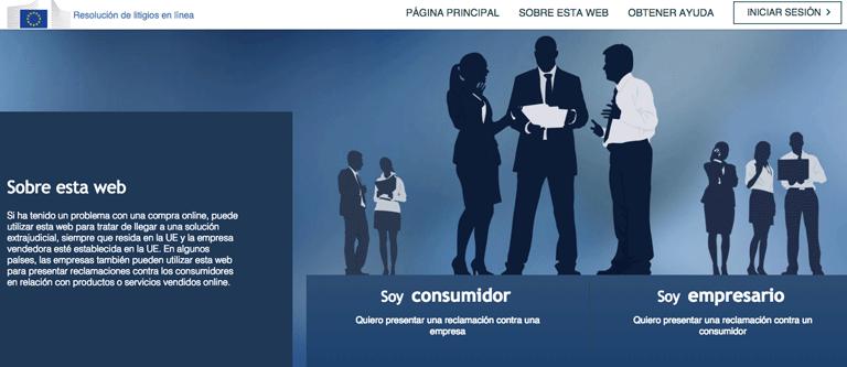 Plataforma ODR Centro Europeo del Consumidor