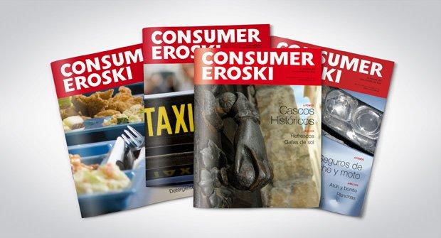Portadas revista Consumer Eroski