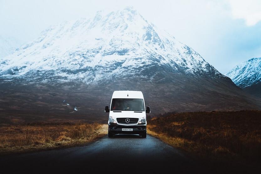 Pros y contras de un viaje en furgoneta