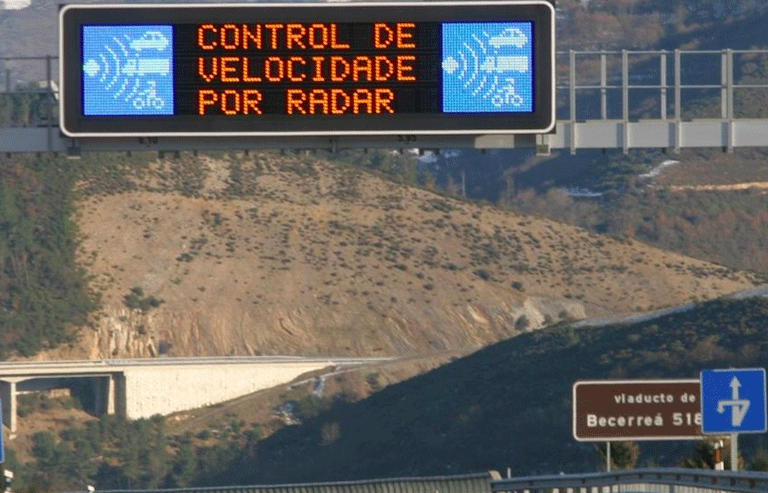 La DGT no aplica correctamente el margen de error de los radares