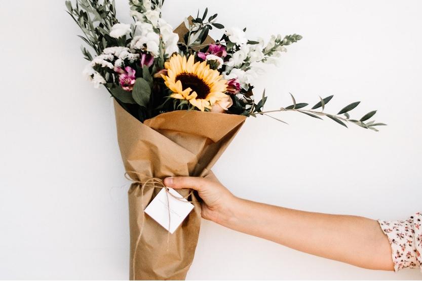 Enviar flores en Madrid vía la floristería Menta y Canela