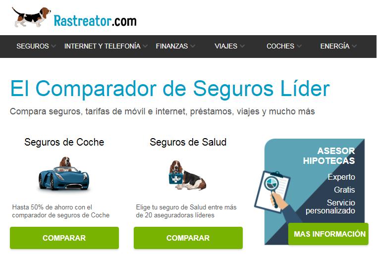 Rastreator web