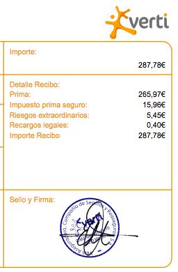 Recargo Consorcio CS 2