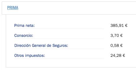 Recargo Consorcio CS