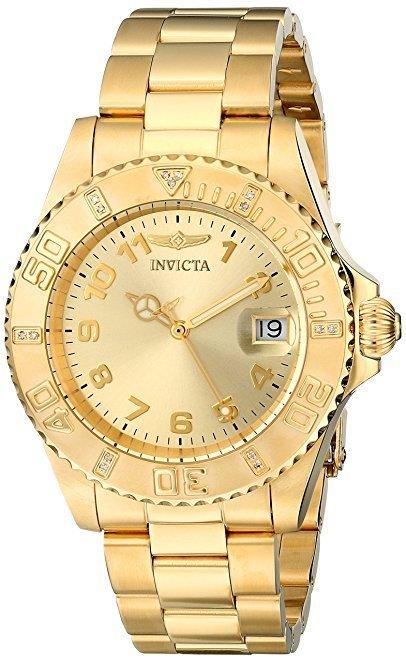 Reloj de mujer Invicta dorado Amazon
