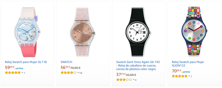 Relojes Swatch Amazon