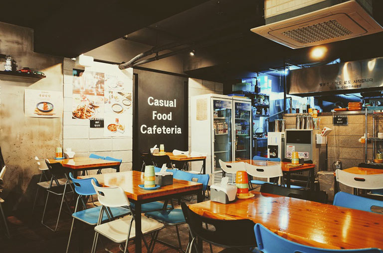 Tipos de cafeterías y derechos de los usuarios