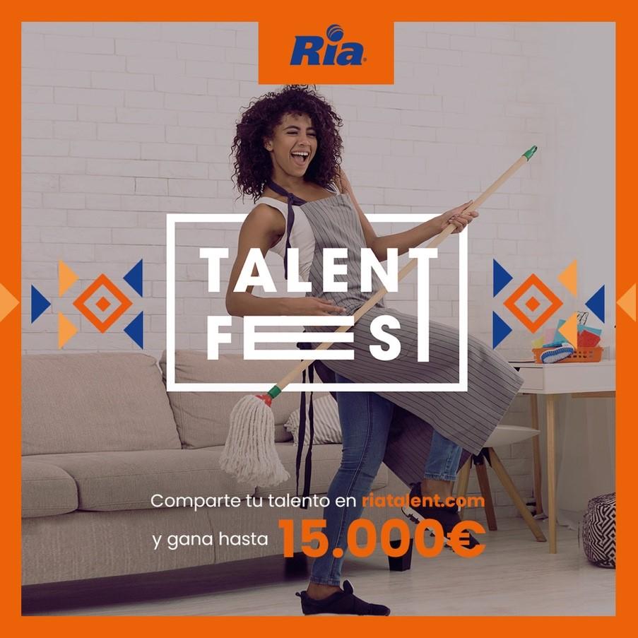 Ria Talent Festival cartel