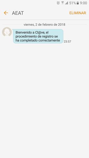 SMS AEAT DEV
