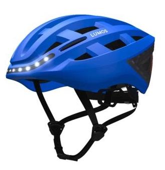 Lumos Kickstart casco de ciclismo azul cobalto