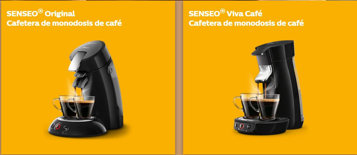 Senseo Original y Senseo Viva Café