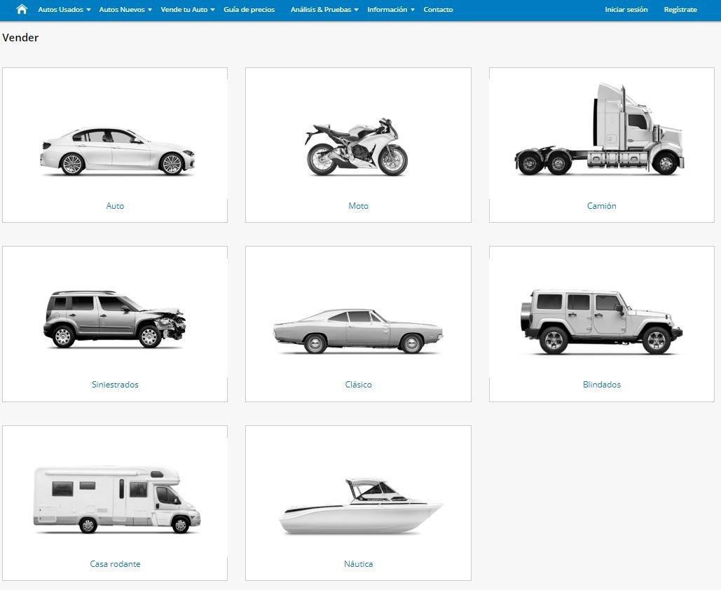 Soloautos.mx vende tu auto paso 1