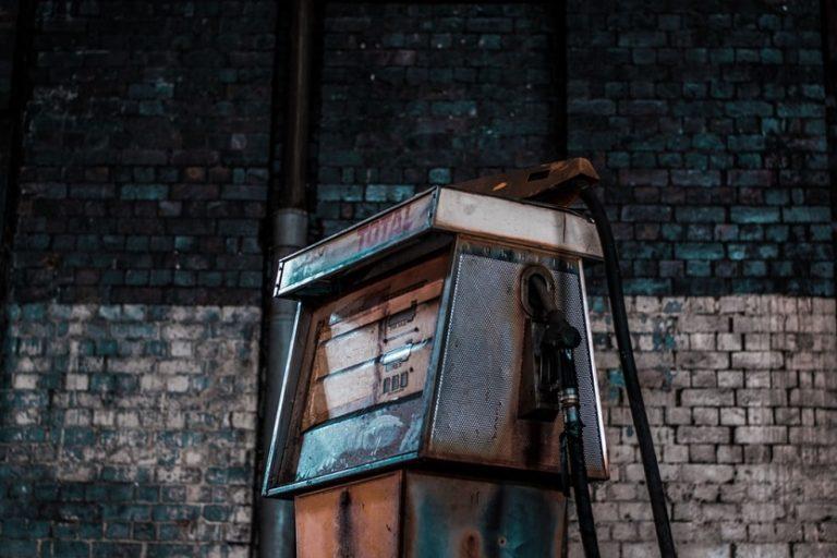 Surtidor de gasolina gasolinera