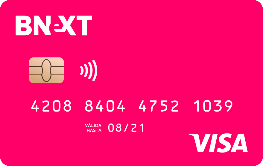 Cómo funciona la tarjeta prepago Bnext