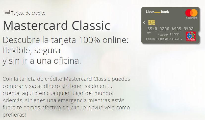 Tarjeta Classic de Liberbank