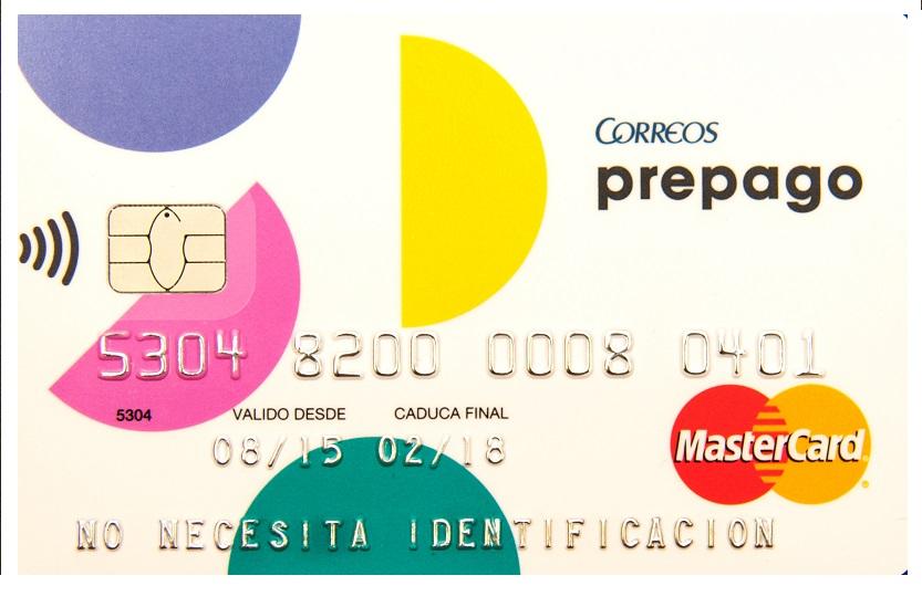Tarjeta Correos Prepago MasterCard
