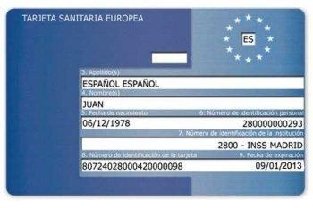 Tarjeta Sanitaria Europea (TSE) 2