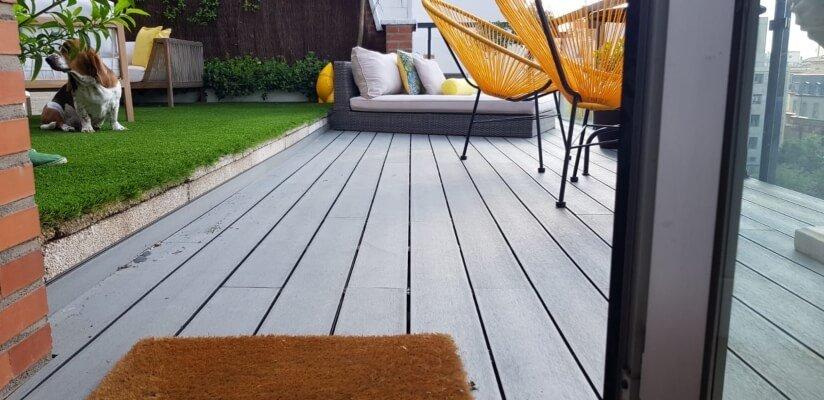 Terraza tarima tecnologica composite