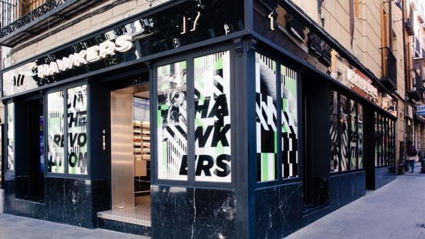 Tienda Hawkers Madrid calle Carretas 17