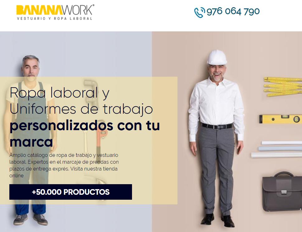 Tienda de ropa laboral Bananawork