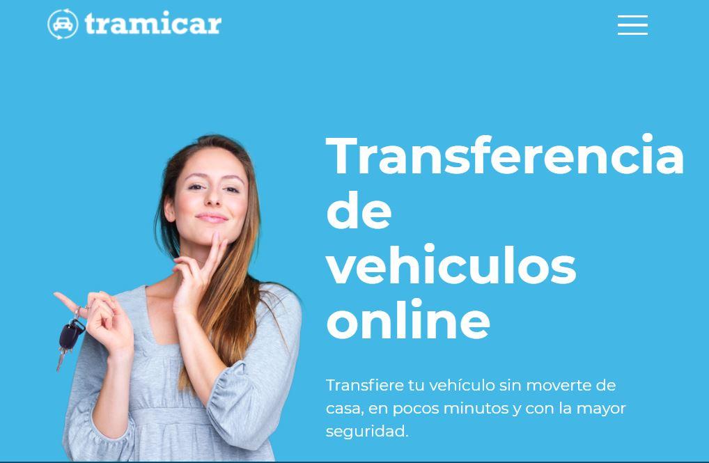 Tramicar transferencia online de vehículos