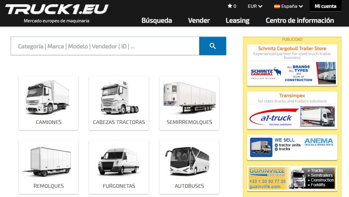 Truck1 España web