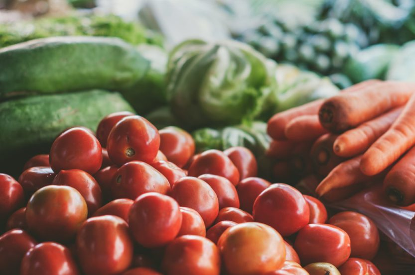 Las frutas y verduras estimulan la producción de dopamina