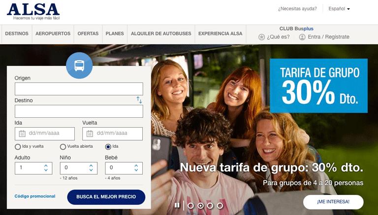 Web de ALSA 07 2016