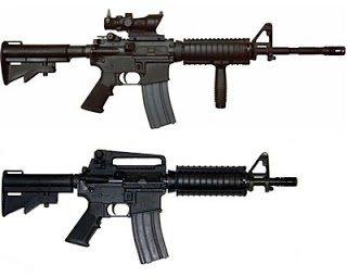 Armas prohibidas por ley en España