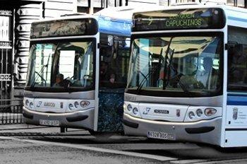 Bicicletas y sillas de ruedas en autobuses interurbanos de Madrid