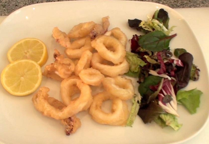 Calamares a la romana: ración a 20 euros