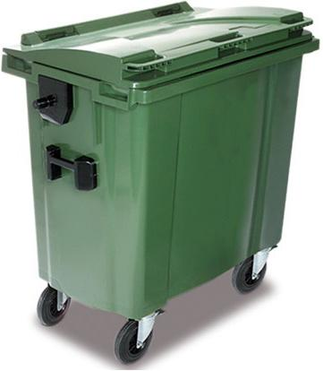 contenedor de basura orgánica