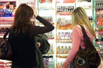 cosmética publicidad compra