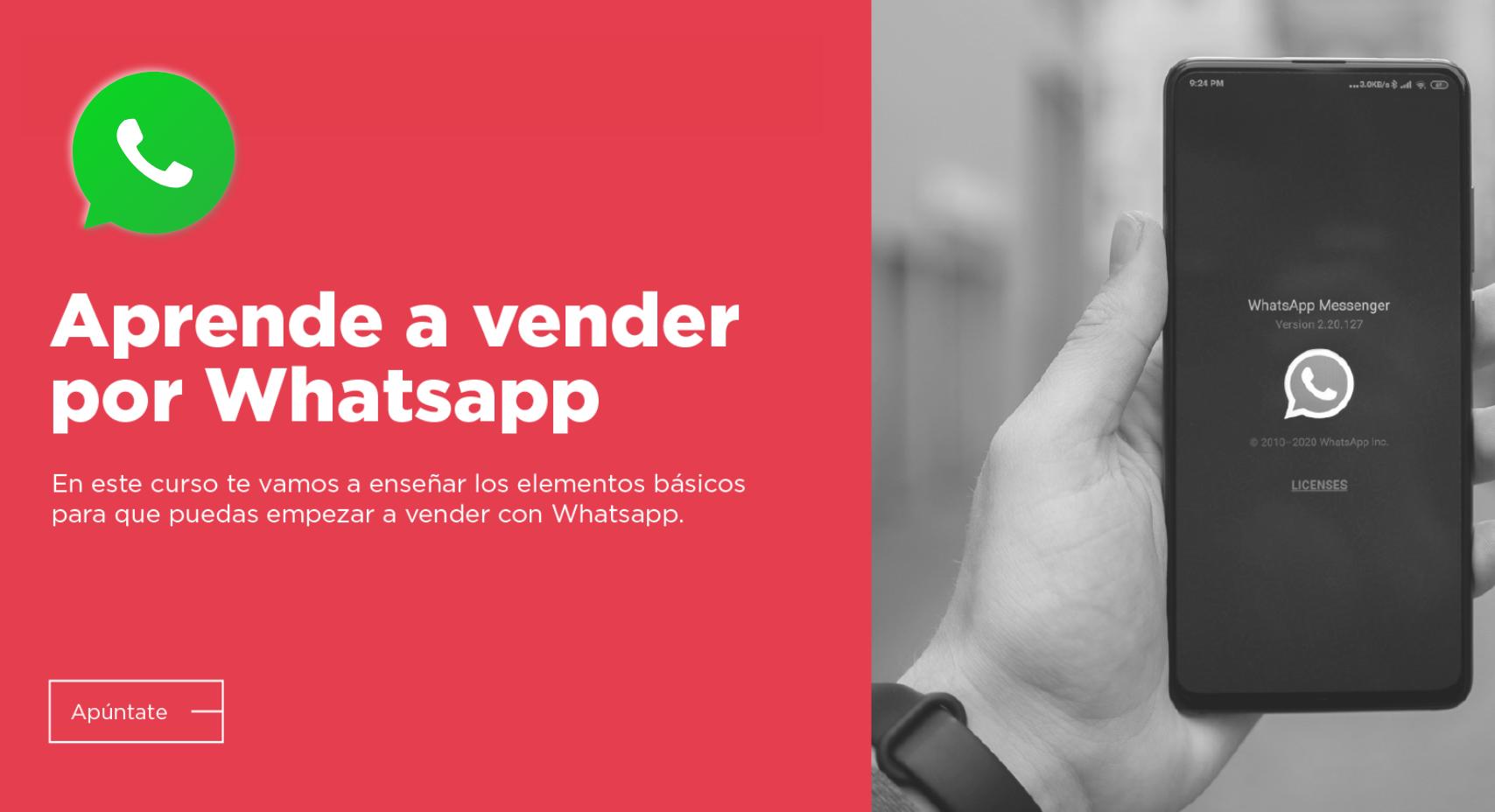 Vender con WhatsApp – Una solución para muchas empresas y autónomos