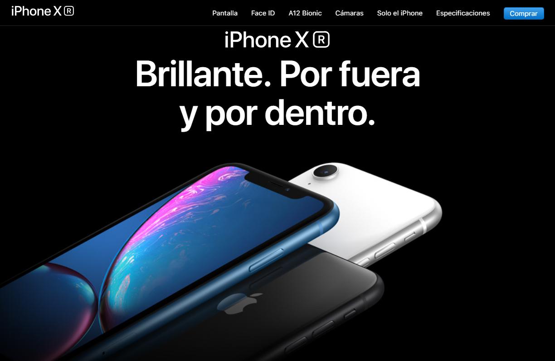 iPhone XR defectuoso