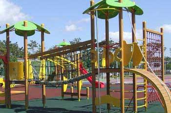 Medidas para evitar el riesgo de atrapamiento en los parques infantiles