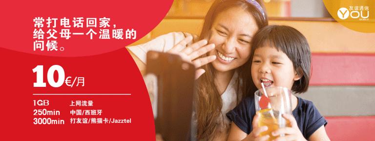 La forma más barata de llamar a China desde España